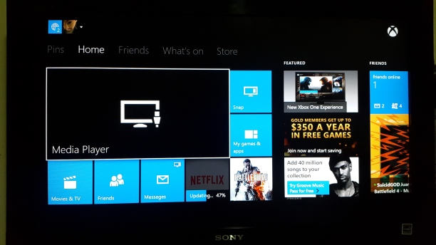 XBOX One Media Player