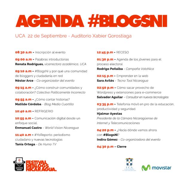 #blogsni - agenda